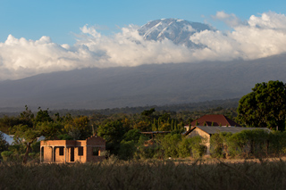 Foothills of Mount Kilimanjaro and Kirua