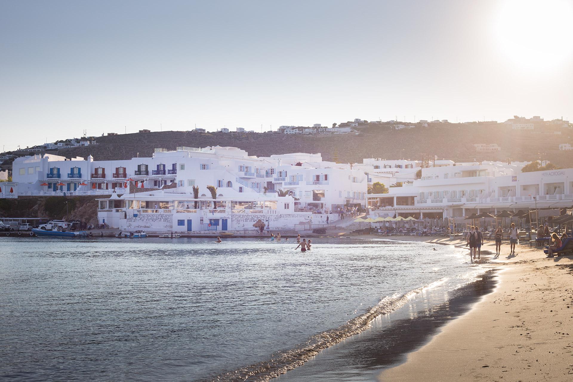 Beaches of Naxos