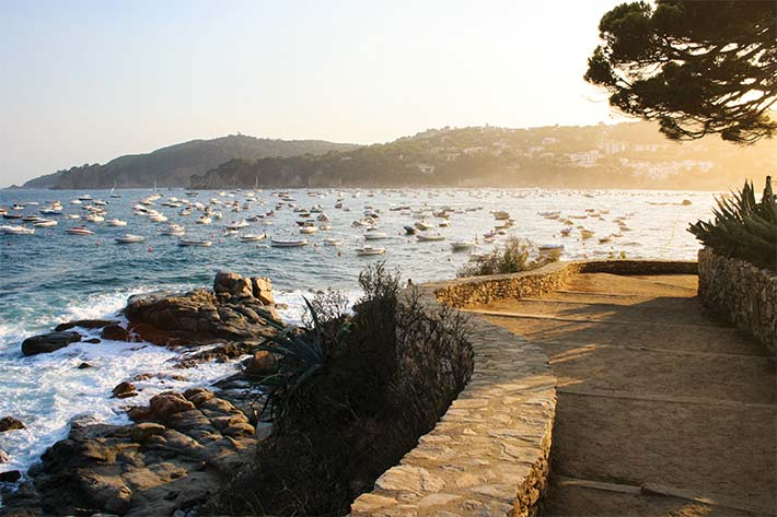 Coast of Costa Brava
