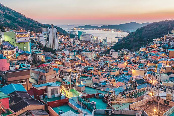 Overlooking Busan